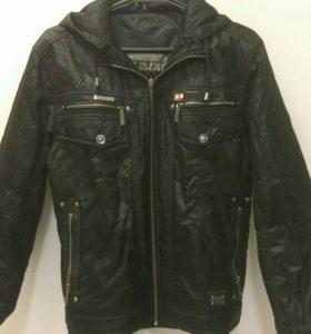 Куртка- бомбер двухсторонняя