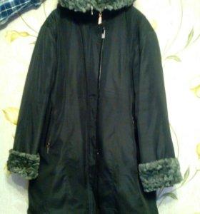 Зимняя куртка,очень теплая, размер 56