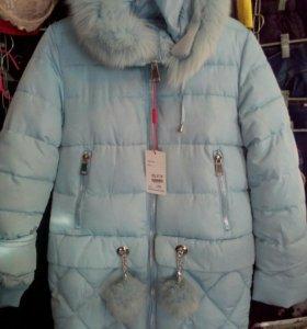 Куртка девочковая (новая)