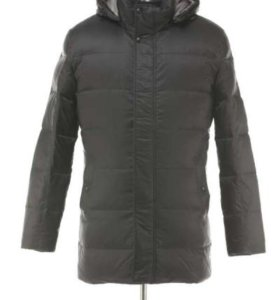 Куртка новая на пуху м енотом, 52 р-р
