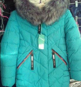 Куртка девочковая(новая)