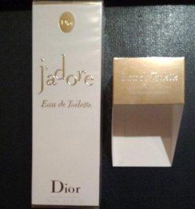Dior J'adore Eau de Toilette, 75 мл