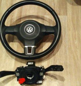 Руль, подушка, круиз контр VW Tiguan, Passat, Golf