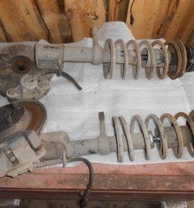 передние и задние стойки на ваз 2108-2109