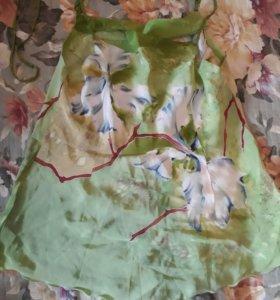 Блуза шёлк 100% 44 разм