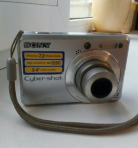 Фотоаппарат Sony Cyber-shot DSC-S730