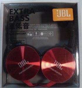 Наушники с микрофоном  Extra Bass JBL