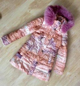 Пальто зимнее ( синтепон, осень тёплое)