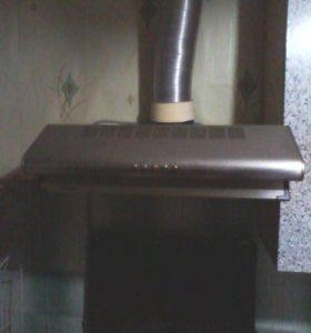 Вытяжка кухонная Jetair,три скорости, и подсветка