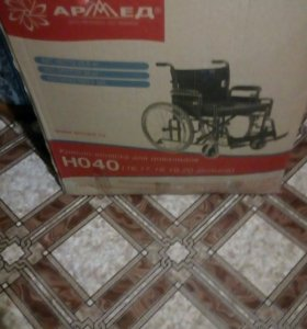 Инвалидная коляска новая.
