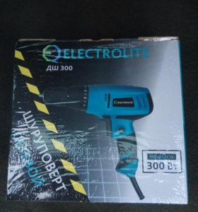 Дрель-шуруповерт ELECTROLITE ДШ-300