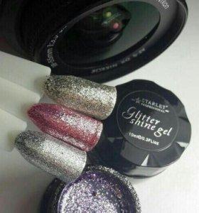 Starlet Prof.Glitter Shine Gel Гель-лак,блестки