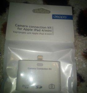 Картридер Camera connection kit для iPad 4/mini