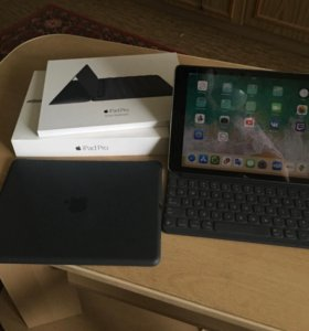 iPad Pro 9.7+Cellular, Smart Keyboard, чехол Apple