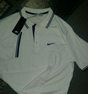 Футболка Nike, поло, новая!!!