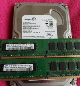 Жёсткий диск seagate 250 gb