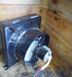 Дополнительная печка в салон УАЗ