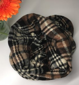 тёплый шарф-снуд