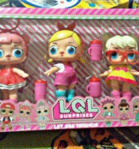 Набор куколок LOL