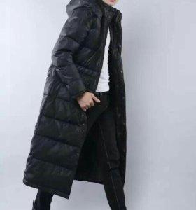 Куртка зимняя мужская удлиненная