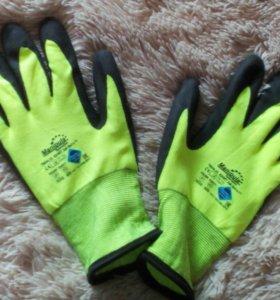 Новые очень тёплые зимние рабочие перчатки.