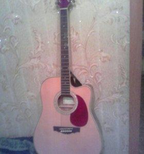 Электро акустическая гитара модель Nazanda