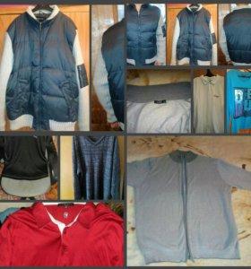 Куртка и много муж вещей