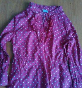 Рубашечка,р.2-3 года