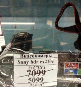 Видеокамера Sony HDR CX210E