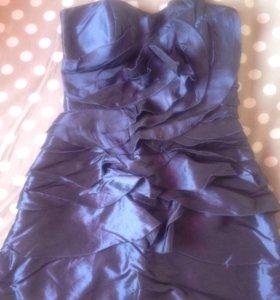 Шикарное вечернее платье р 42-44
