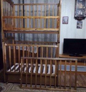 Детская кровать двуярусная