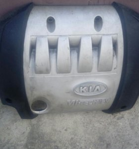 Kia Spectra Накладка на двигатель