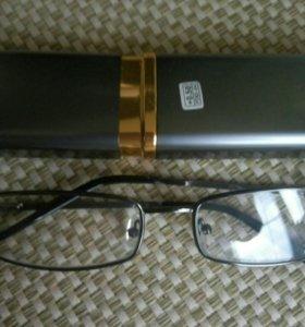 очки для чтения с футляром +0.5