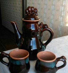 Кофейник 2 чашки