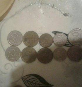 Монеты с 92-93 гг