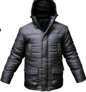Новая зимняя теплая куртка.