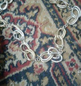 набор браслет и цепочка обмен