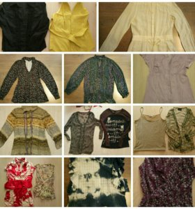 Рубашки, блузки 42-44 р-р