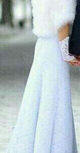 Свадебный наряд(платье,ботинки,шубка)