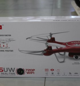 Квадракоптер syma x5uw fpv real-time 720p wifi