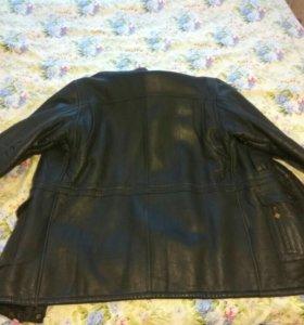 Куртка кожа нат-кожа, нат- мех