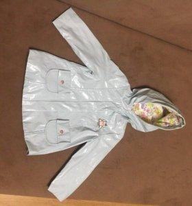 Куртка-дождевик детская
