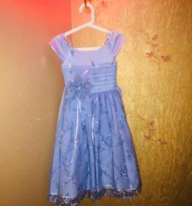 | Детское Праздничное Платье «Мальвина» |
