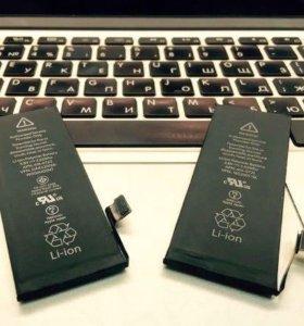 Замена. Аккумулятор iPhone 4.4S.5.5S.5C.6.6S