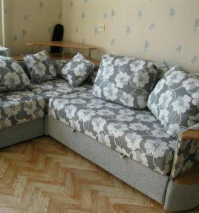 Угловой диван, б/у