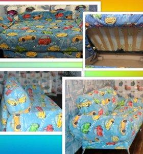 Продам ортопедический детский диван