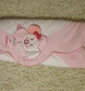 Одеяло -конверт для новорожденного