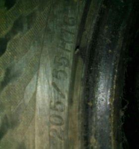 Резина зимняя комплект 16R 205/55