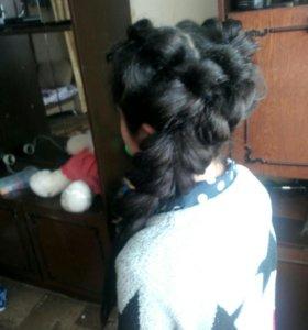 Причёски покраски стрижки