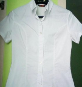 Белая блузка/рубашка